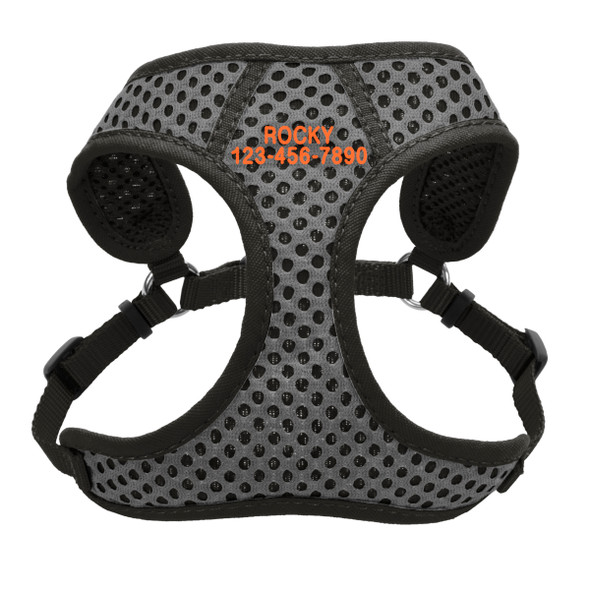 Coastal Pet Comfort Soft Wrap Sport Adjustable Dog Harness Personalized (6385E)