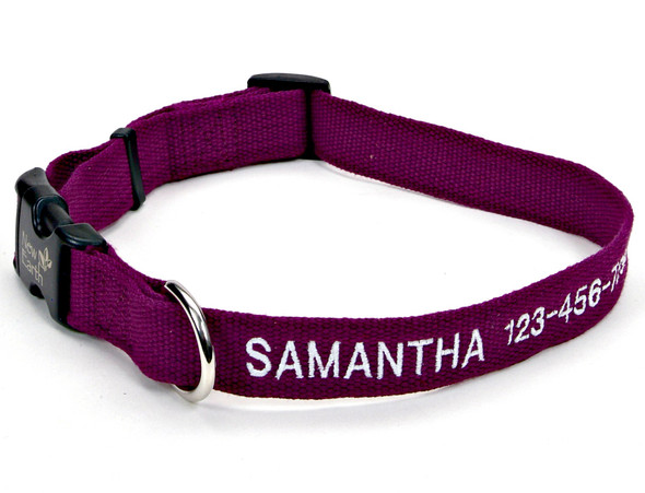 Coastal Pet Soy Adjustable Dog Collar Personalized (14301E)