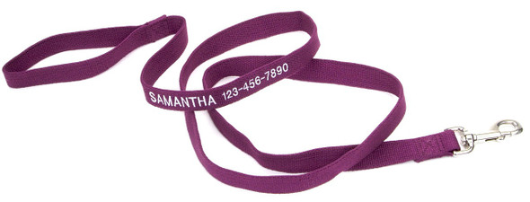 Coastal Pet Soy Dog Leash Personalized