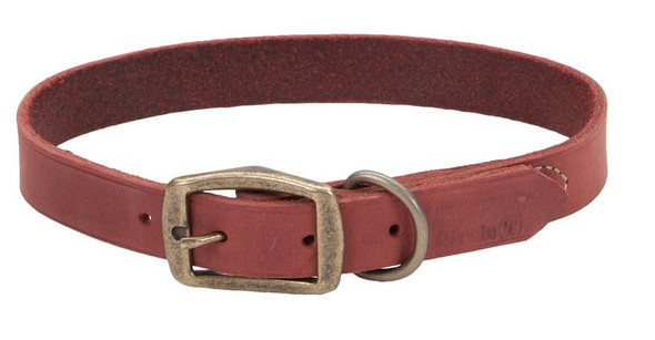 Circle T Leather Rustic Town Dog Collar (3113)