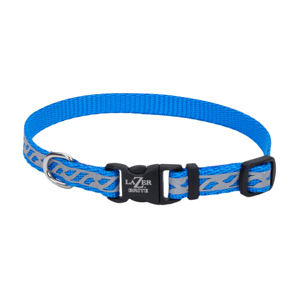 Coastal Pet Lazer Brite Reflective Adjustable Dog Collar (46331)