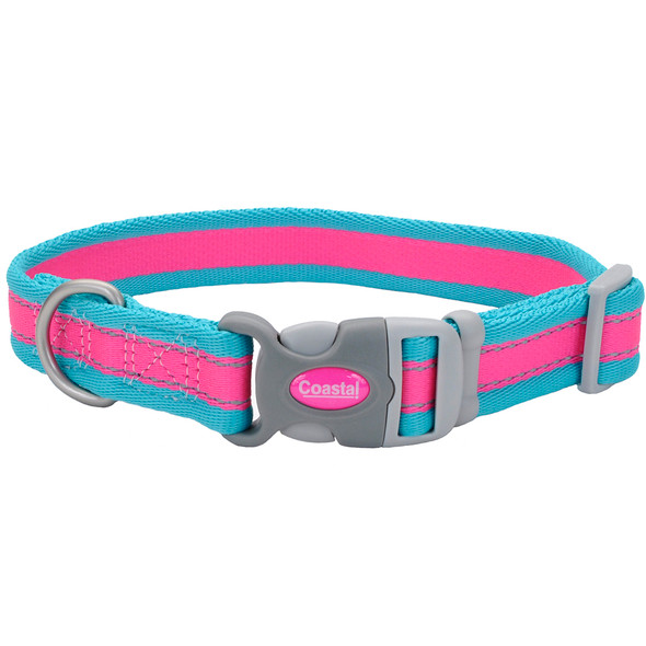 Coastal Pet Pro Reflective Adjustable Dog Collar (12621)