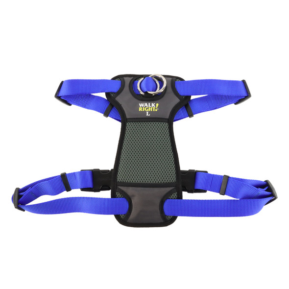Coastal Pet WalkRight!® Front-Connect Padded Dog Harness blue