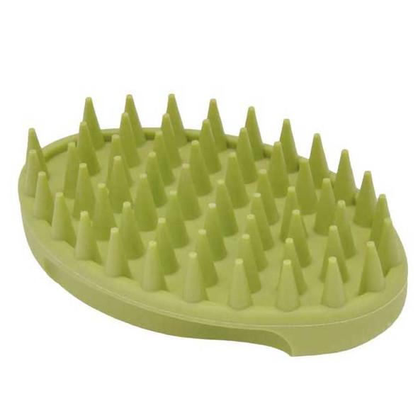 Safari® Soft Tip Rubber Curry Dog Brush