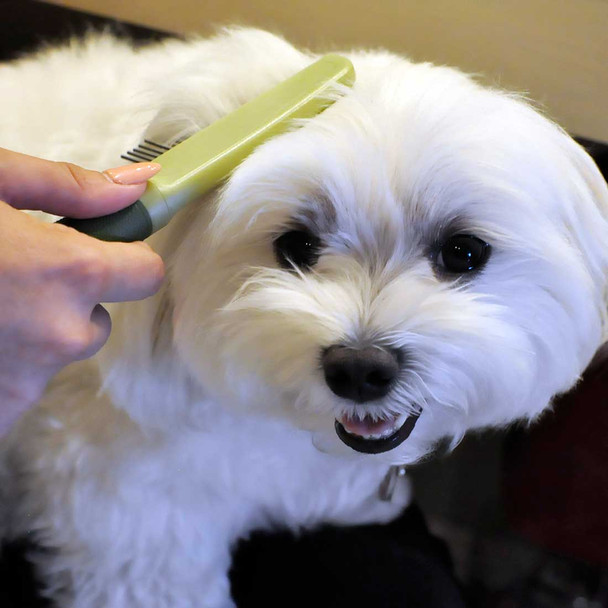 Safari® Medium Dog Comb with Rotating Teeth
