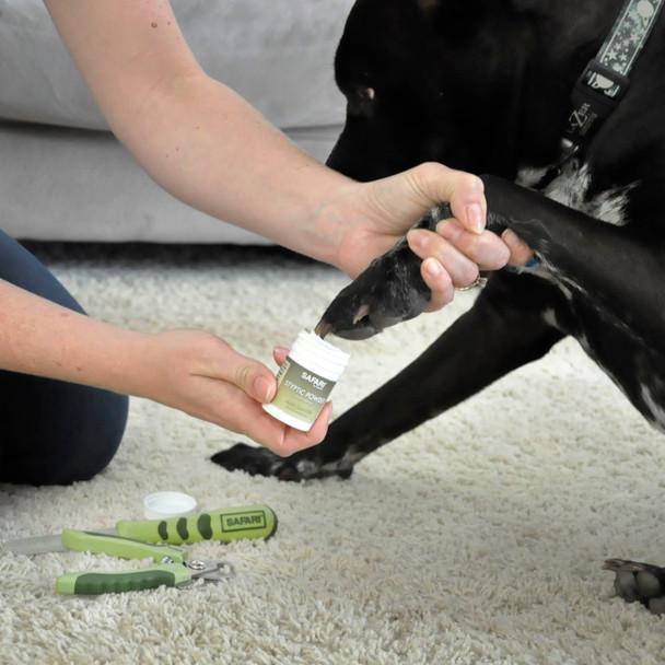 Safari® Diamond Dog Nail File and Safari® Dog Styptic Powder