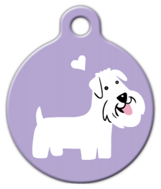 Dog Tag Art Sealyham Terrier Doggie Pet ID Dog Tag