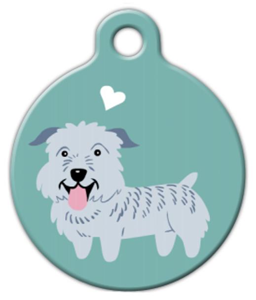 Dog Tag Art Glen of Imaal Doggie Pet ID Dog Tag