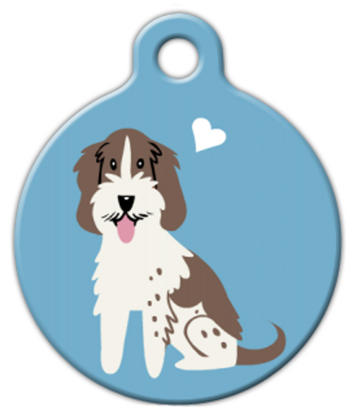 Dog Tag Art Spinone Italiano Doggie Pet ID Dog Tag