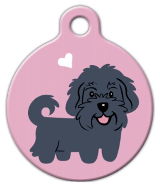 Dog Tag Art Havanese Doggie Pet ID Dog Tag