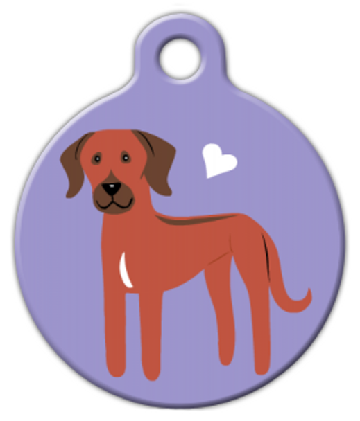 Dog Tag Art Rhodesian Ridgeback Doggie Pet ID Dog Tag