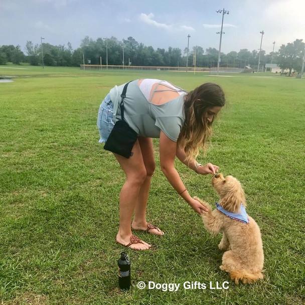 Millers Mom Wears Coastal Pet Multi Function Treat Bag