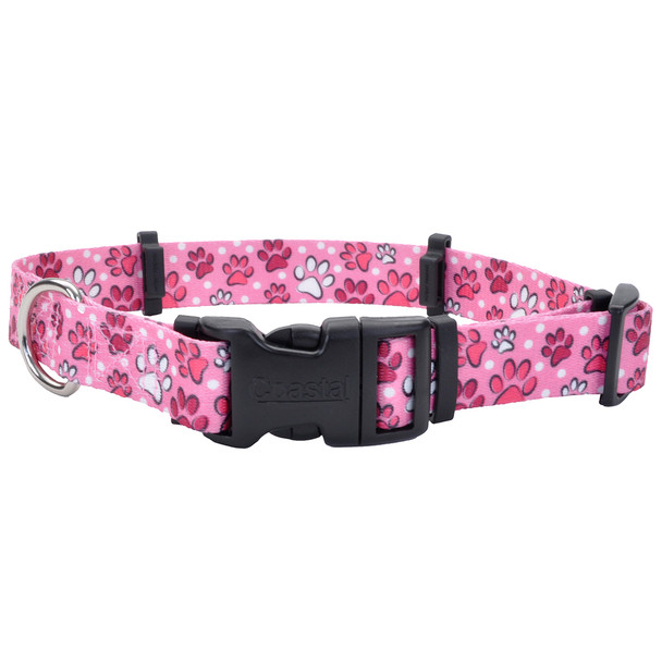 Coastal Pet Secureaway | Hideaway Flea Collar Protector (6142) Multi Paws Pink