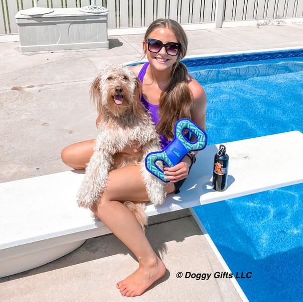 Mylo Having Summer Fun Rascals Fetch Tug