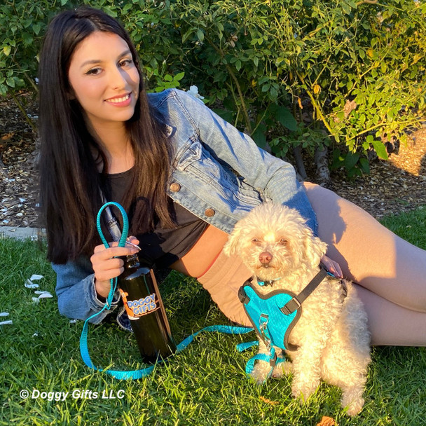 Stella looks great in her Inspire collar leash and harness set