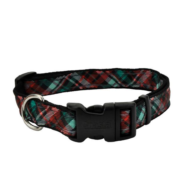 Celebration Christmas Dog Collar (06428PCH) CH3 Classic Holiday Plaid