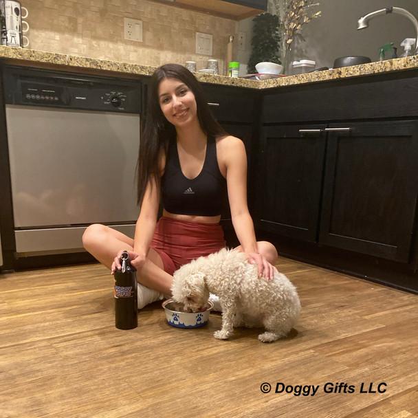Stella and Brooke Maslow Paw Series Dog Bowl