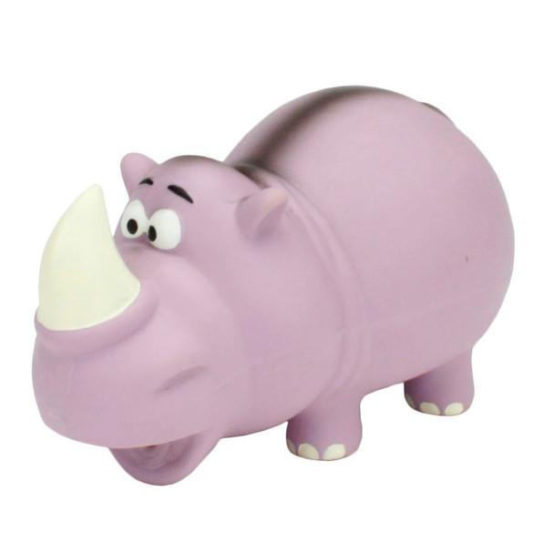 Rascals Grunt Dog Toy Rhino (83086RNCLDOG)