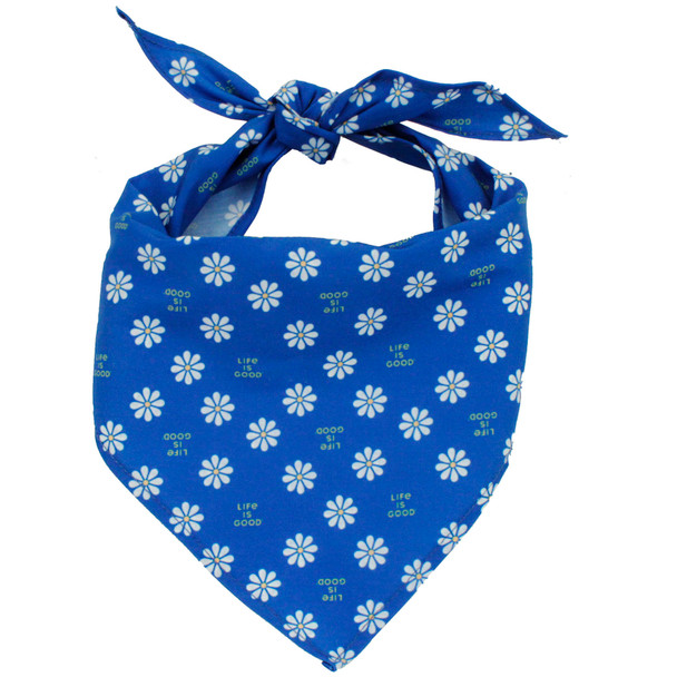 Life Is Good® Dog Bandana (02400D) Blue