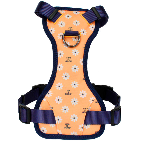 Life Is Good® Overlay Dog Harness (61453D) Yellow Good Vibes