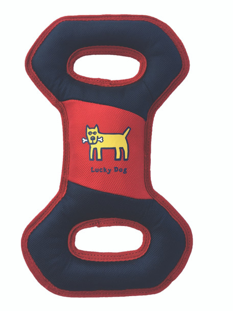 Life Is Good Tug Toy Navy With Red