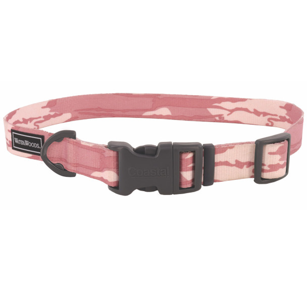 Water&Woods™ Patterned Dog Collar WW5 Bottomland Pink