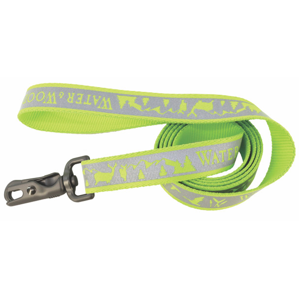 Water&Woods™ Reflective Dog Leash WWL Water and Woods Lime