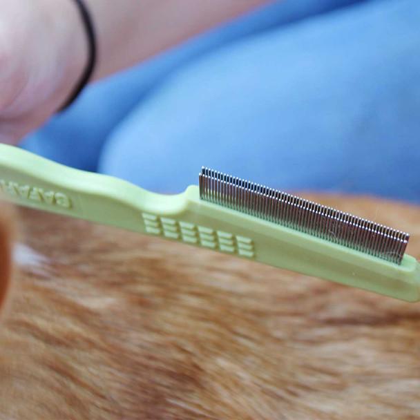 Safari® Flea Dog Comb With Double Row of Teeth details