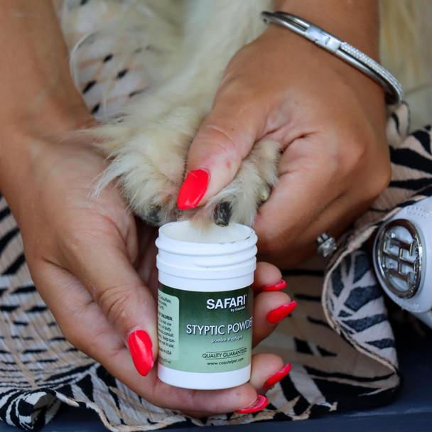 Safari® Dog Styptic Powder How To Use
