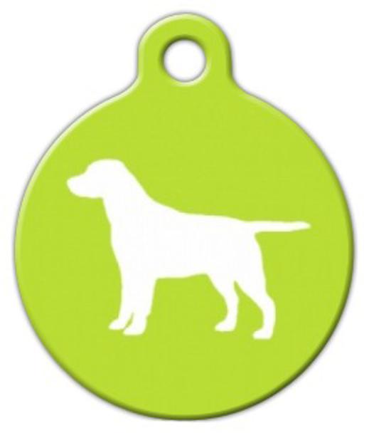 Dog Tag Art Labrador Retriever Pet ID Dog Tag