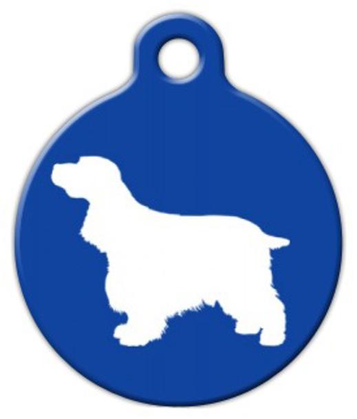 Dog Tag Art Cocker Spaniel Pet ID Dog Tag