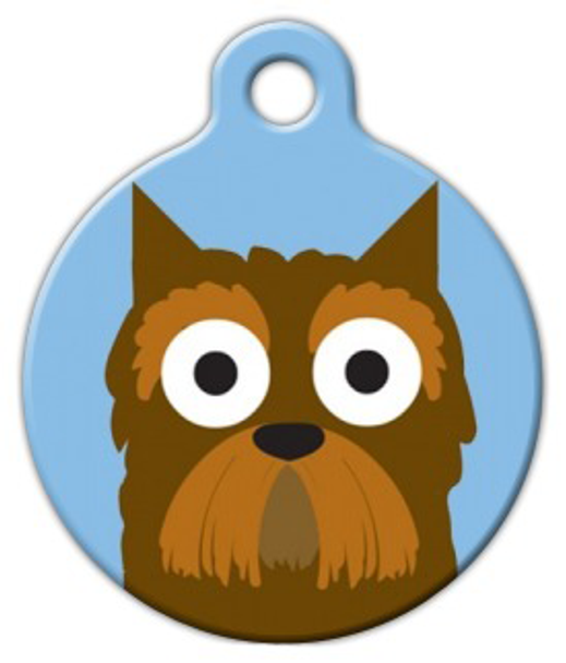 Dog Tag Art Yorkshire Terrier Boy Pet ID Dog Tag
