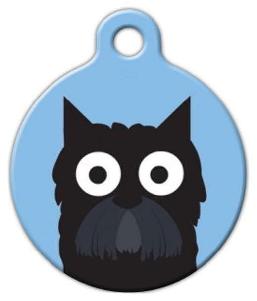 Dog Tag Art Scottish Terrier Boy Pet ID Dog Tag