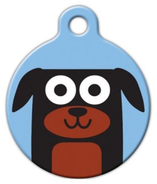 Dog Tag Art Rottweiler Boy Pet ID Dog Tag