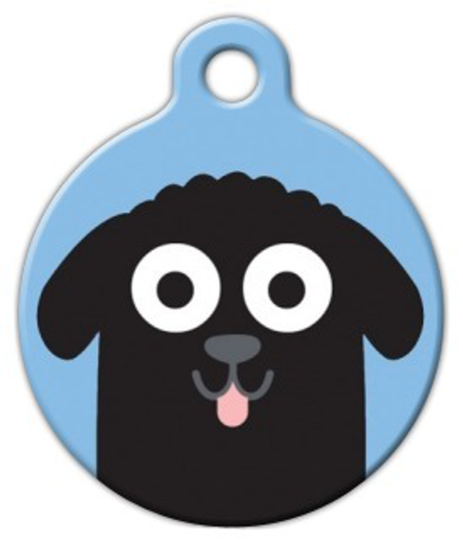 Dog Tag Art Newfoundland Boy Pet ID Dog Tag