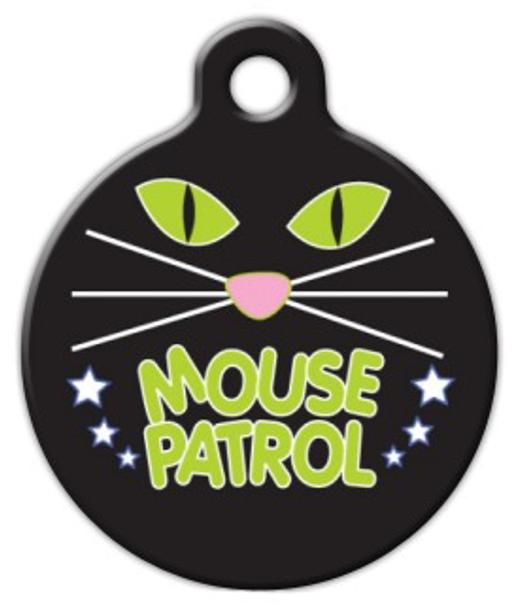 Dog Tag Art Mouse Patrol Pet ID Dog Tag
