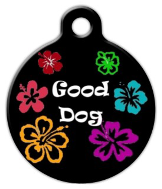 Dog Tag Art Good Dog Pet ID Dog Tag