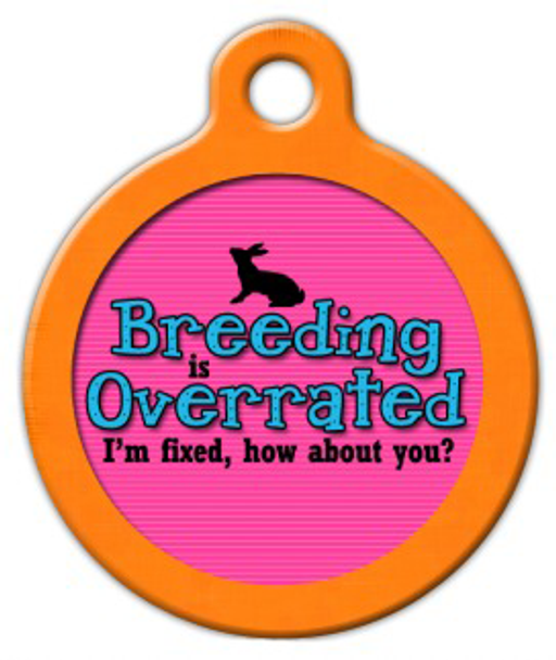 Dog Tag Art Breeding is Overrated Pet ID Dog Tag