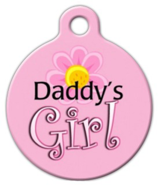 Dog Tag Art Daddy's Girl Pet ID Dog Tag
