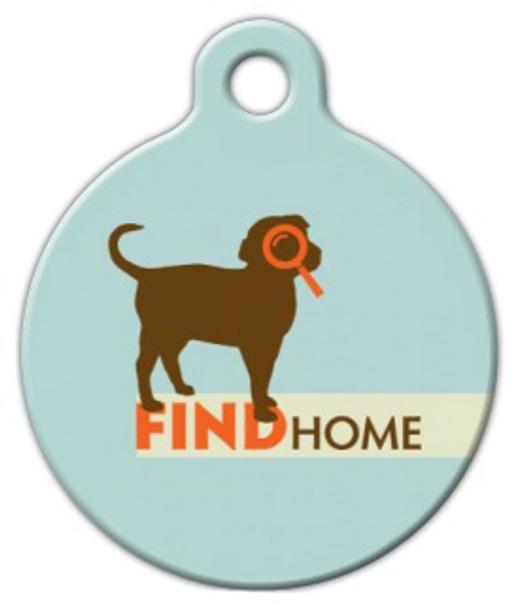 Dog Tag Art Find Home Pet ID Dog Tag