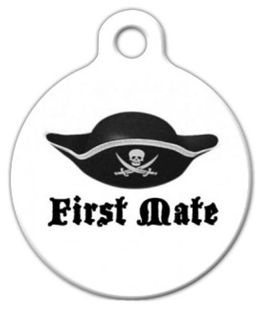 Dog Tag Art First Mate Pet ID Dog Tag