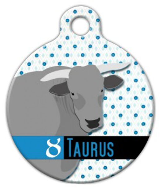 Dog Tag Art Taurus Pet ID Dog Tag
