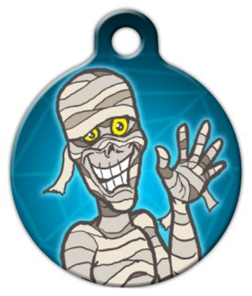 Dog Tag Art Return of the Mummy Pet ID Dog Tag