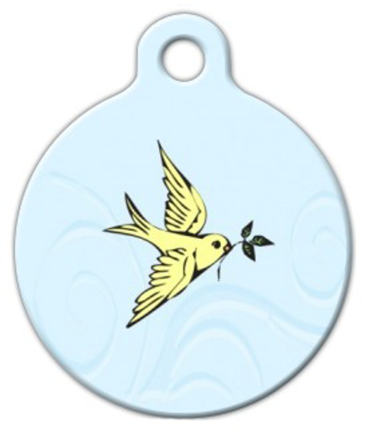 Dog Tag Art Peace Offering Pet ID Dog Tag