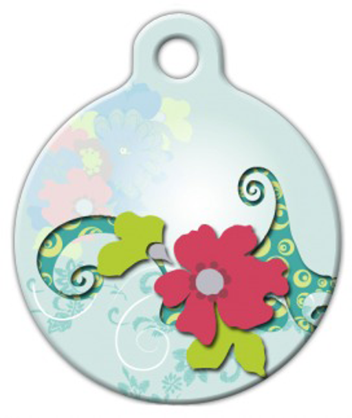 Dog Tag Art Fantasy Garden Pet ID Dog Tag