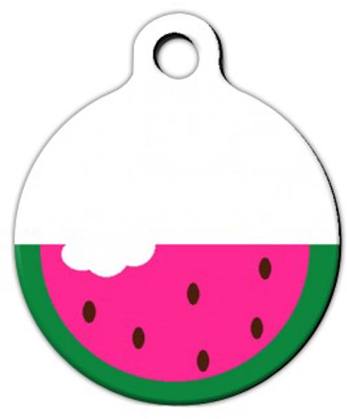 Dog Tag Art Watermelon Pet ID Dog Tag