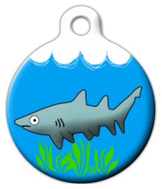 Dog Tag Art Jaws Pet ID Dog Tag