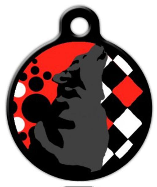 Dog Tag Art Howler Pet ID Dog Tag
