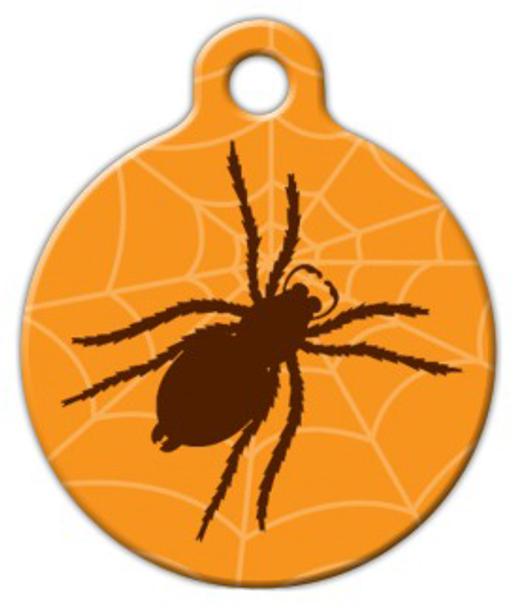 Dog Tag Art Spider Pet ID Dog Tag