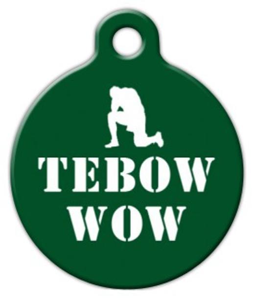 Dog Tag Art TeBOW WOW Pet ID Dog Tag